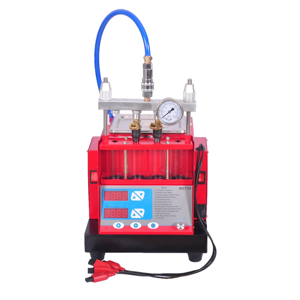 ultrasonic fuel injector cleaning machine