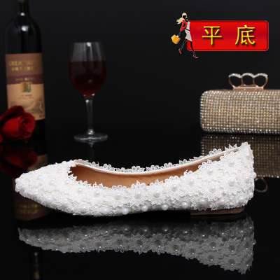 Здесь можно купить  2015 New Fashion Autumn Zapatos Mujer shoes woman Lace Pearl Crystal Bridal Flat White Wedding Shoes For Women Plus Size Hot 2015 New Fashion Autumn Zapatos Mujer shoes woman Lace Pearl Crystal Bridal Flat White Wedding Shoes For Women Plus Size Hot Обувь