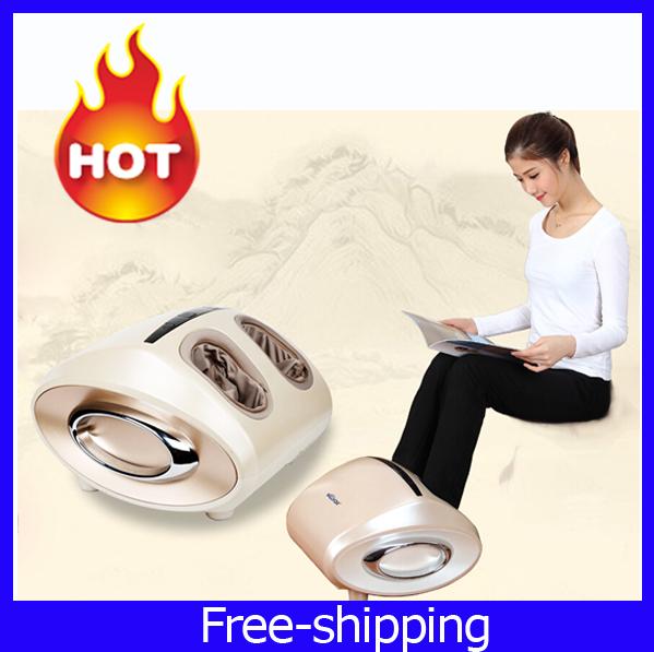 Shiatsu Rolling Foot Massager,Health Care Blood Circulation Reflexology Far Infrared Foot Massager Electric Roller Machine(China (Mainland))