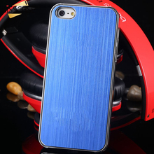 Buy Luxury Case iPhone 5 5S SE Aluminum Metal Brush Hard Slim Protective Back Cover Apple iPhone 5 5s SE Capa Fundas Shell for $1.63 in AliExpress store