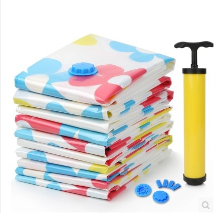 sunflower Vacuum Storage Bag/ 11pcs/pack vacuum bags for clothes winter quilt Space bag Vacuum Seal Compressed Organizer(China (Mainland))