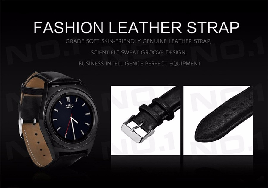 NO.1 G4 Smart Watch Bluetooth Smartwatch Clock Support SIM/TF Card Heart Rate Pedometer Wristwatch For iOS Android Smartphone