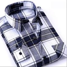 Hot Sales Spring  Men's Plaid Long-Sleeved Business Shirt 13- Color Color Fashion Casual Cotton Shirt Men's Shirt Free Shipping(China (Mainland))