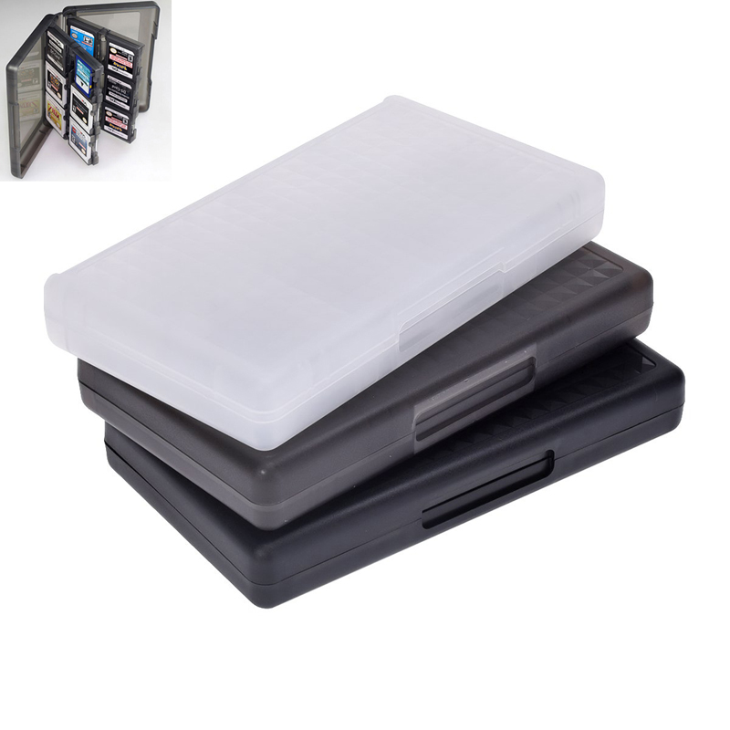 32 in 1 Protective Game card Cartridge Holder Case Box For Nintendo DS / DS Lite / D Si / 3DS / 3DS XL/LL(China (Mainland))
