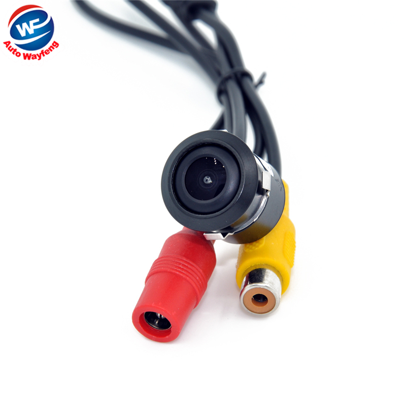 Mini Car 18.5MM Camera HD CCD Car Rear View Camera Reverse Parking back up Camera night vision waterproof Factory Selling(China (Mainland))