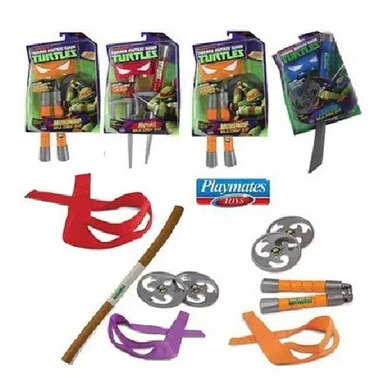 100%Authentic tmnt toys- Teenage Mutant Ninja Turtles weapons toys Weapons Action Figure Outdoor Toys Birthday Gift(China (Mainland))