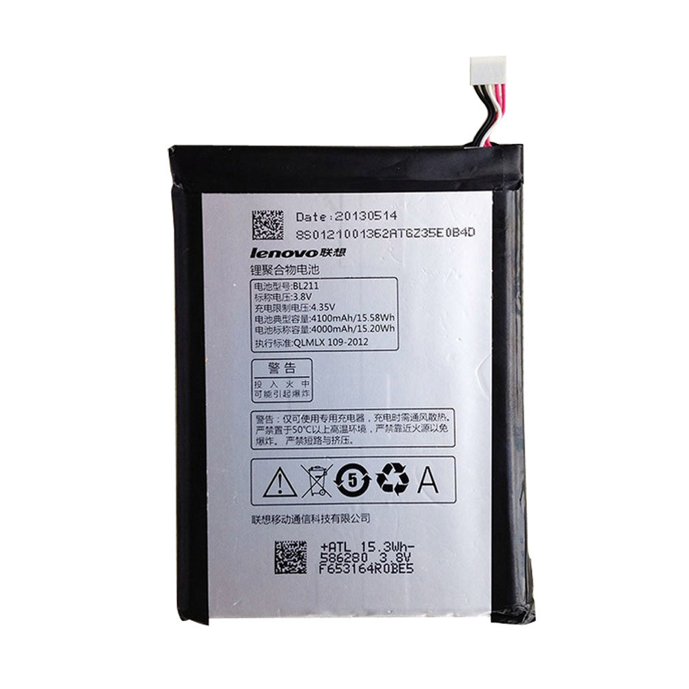 High Quality Lenovo P780 BL211 (4100mAh)Battery for Lenovo P780 BL211 Mobile Phones