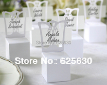 wholesale white favor box