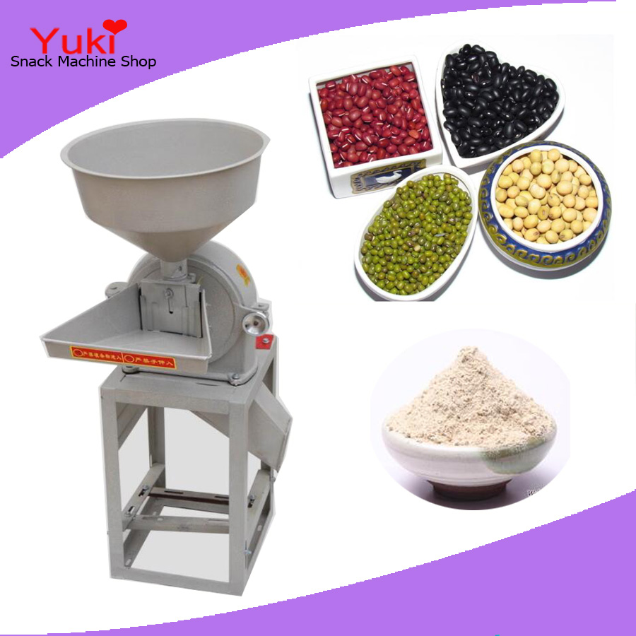 300kg/h Corn Flour Mill Farm Corn Crusher for Chicken Feed Maize Flour Milling Machine Industrial Corn Grinder(China (Mainland))