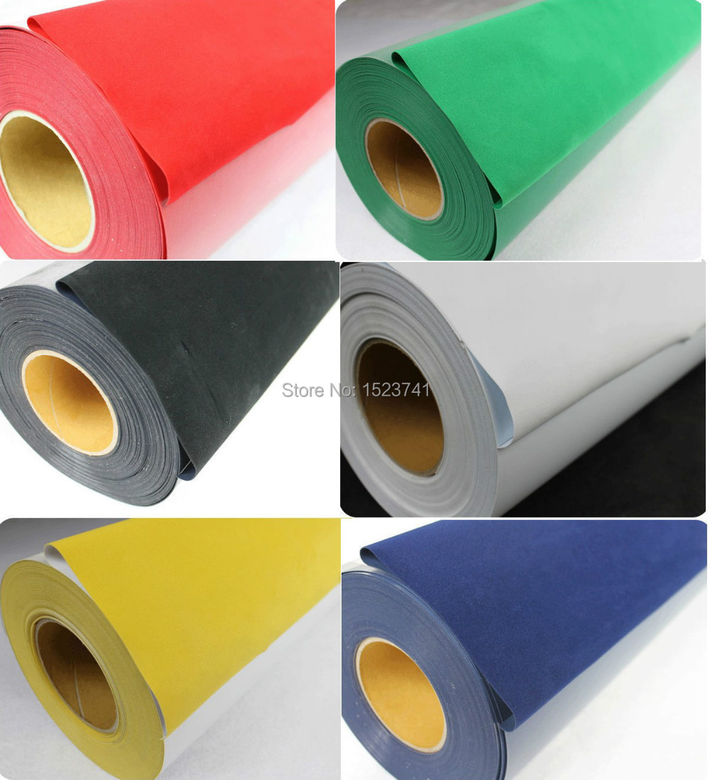 6yards Flocking Heat Transfer Vinyl Cutting Plotter DIY T-shirts(China (Mainland))