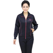 new 2016 women fashion tracksuits,lady clothing set,sport suit,casual sportwear,plus size tracksuit XL-4XL,mother day gift,X765(China (Mainland))