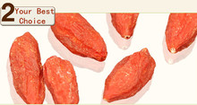Wholesale Free Shipping New 2014 Premium Ningxia gouqi Goji Berry fruit Organic Zhongning Medlar Wolfberry King