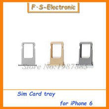 """Buy 30pcs/lot Free SIM Card Tray Holder Slot iPhone 6 4.7"""" 6G Plus 5.5"""" SIM Card Slot Holder Adapter Replacement for $12.31 in AliExpress store"""