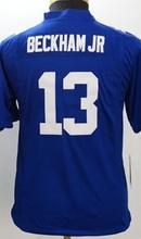 2016 Youth New York Giants, #10 Eli Manning #13 Odell Beckham Jr kids, red white blue 100% stitched logo(China (Mainland))