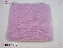 New Arrival Mohair baby photography props Newborn Photography Wraps Handmade Flower Headband Baby Photo props Accessories(China (Mainland))