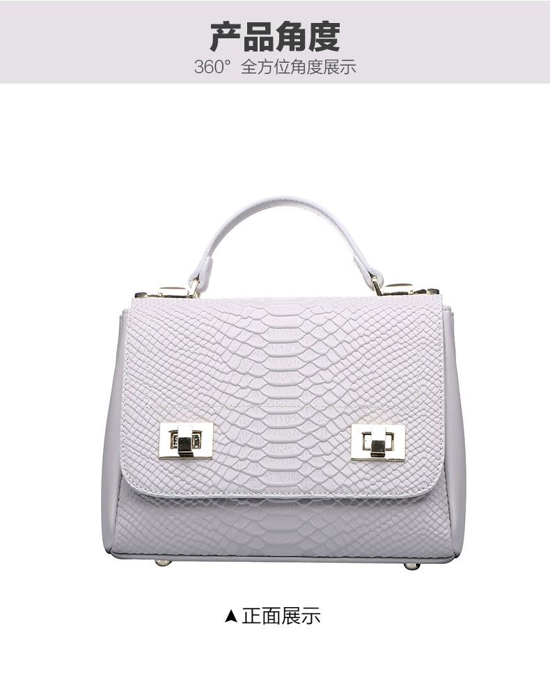 2016  new style women Genuine leather Crossbody Bag Crocodile Bag Fashion Softhand HandBag famous brand  luxury messenger bag