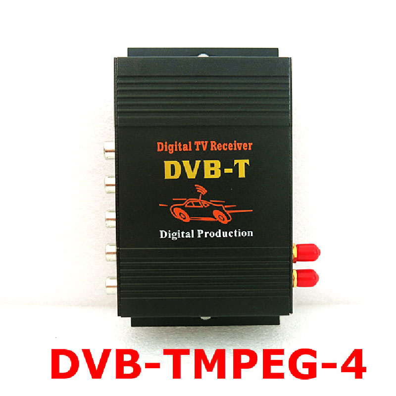 2016 New Mobile DVB-T (MPEG-4)dual-tuner digital tv receiver with 250KM/H&frequency:VHF (177.5~227.5)MHz, UHF(474~858)MHz(China (Mainland))