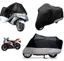 XL Motorcycle Waterproof Outdoor Motorbike Rain Vented  Bike Cover Extra Large(China (Mainland))