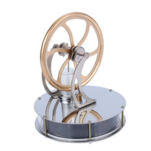 Hot Sale Low Temperature Stirling Engine Heat Education Creative Gift Toy Kit Free Shipping(China (Mainland))