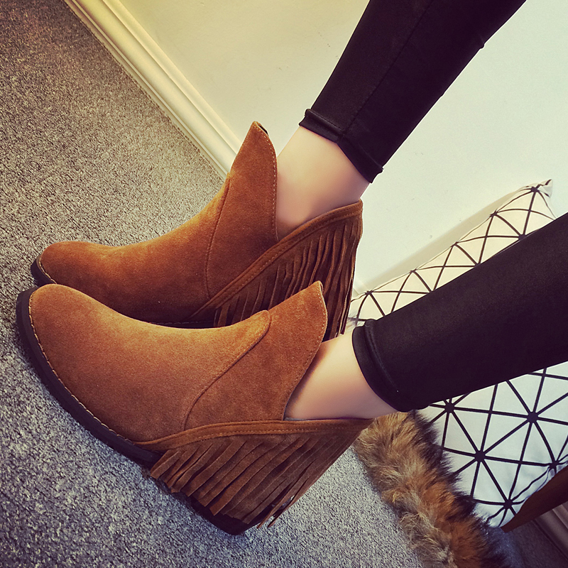 Free shipping Spring female boots flat boots Martin influx of women flat heel boots and bare boots<br><br>Aliexpress