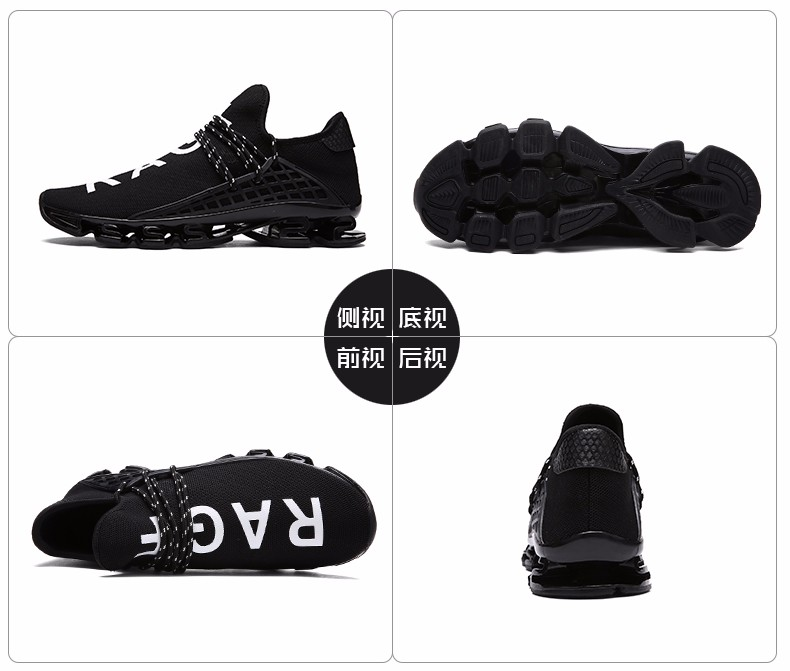 2016 Luxury Brand Men Shoes Women Casual Shoes Fashion Sport Jogging Trainers Breathable Black White Lover's Walking Shoe