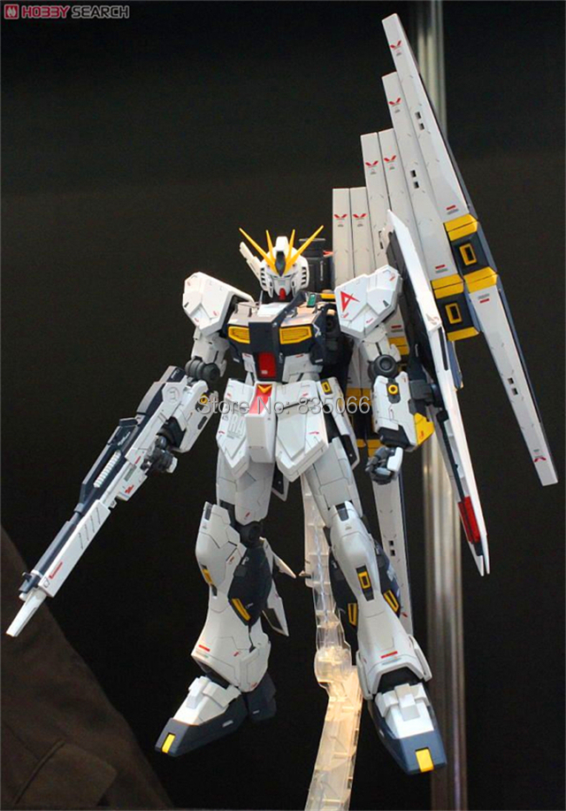 GAO Japanese anime figures Master Grade Gundam 1/100 MG Nu Ver.Ka RX-93 action figure plastic model kits toys equipped - R,Y boutique Toy Store store
