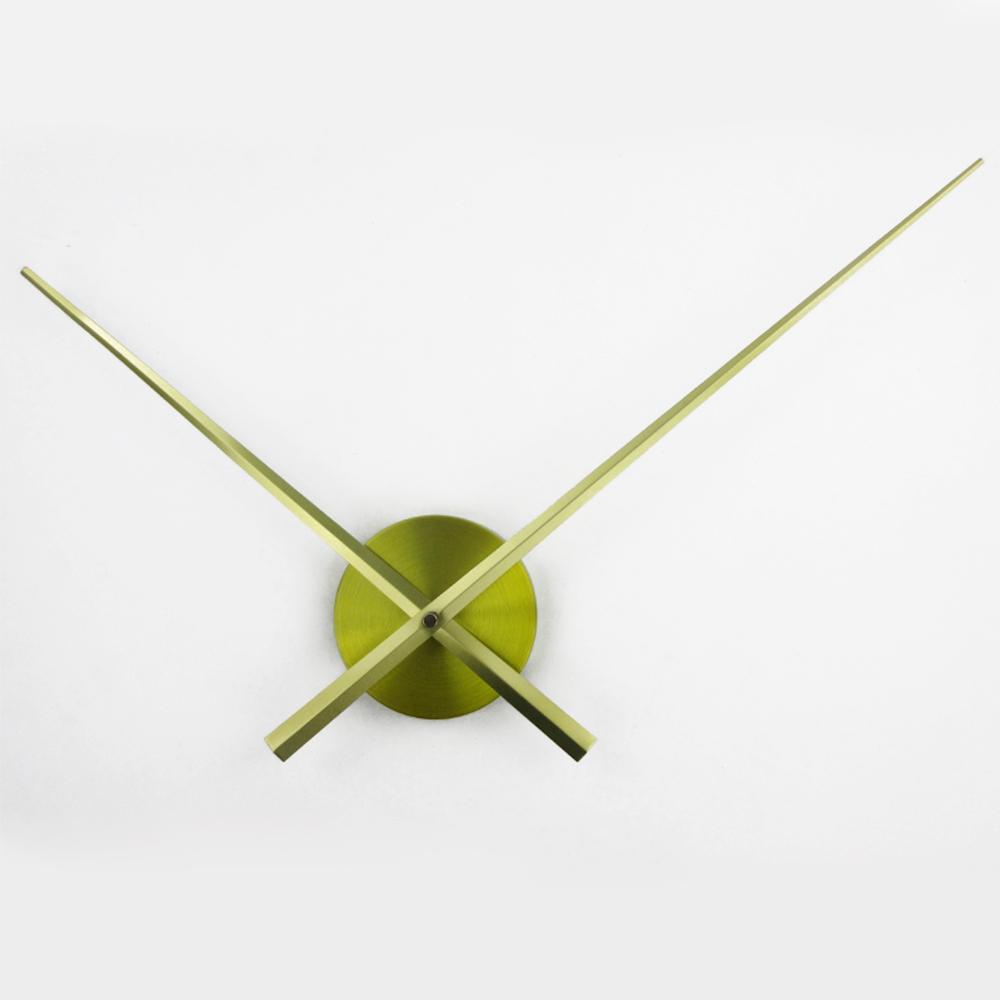 Hot Sale DIY Large Clock Hands Needles Wall Clocks 3D Home Art Decor Quartz Clock Mechanism Accessories Saat Horloge Murale klok(China (Mainland))