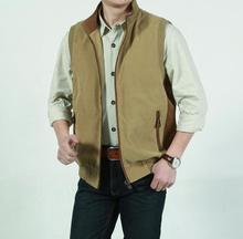 New men's Big yards jacket vest outdoor casual waistcoat Photography vest  Casual Vest Coats(China (Mainland))