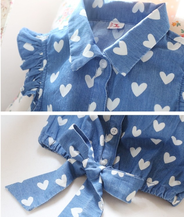 Hot New Spring Summer Baby Girl Blouses Kids Shirts Fantasy Children Shirt Casual Floral Cotton Clothing Child Clothes Wear