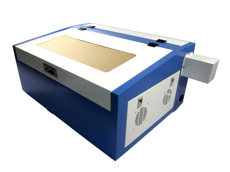 Best price Laser co2 engraving machine 3040 with 50W laser tube, honey comb and Rotary axis included 100% full warranty(China (Mainland))