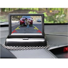 Buy 4.3 Inch Foldable TFT Monitor+Car Rear View System Backup Reverse Camera Car Parking Rear View Camera for $23.99 in AliExpress store