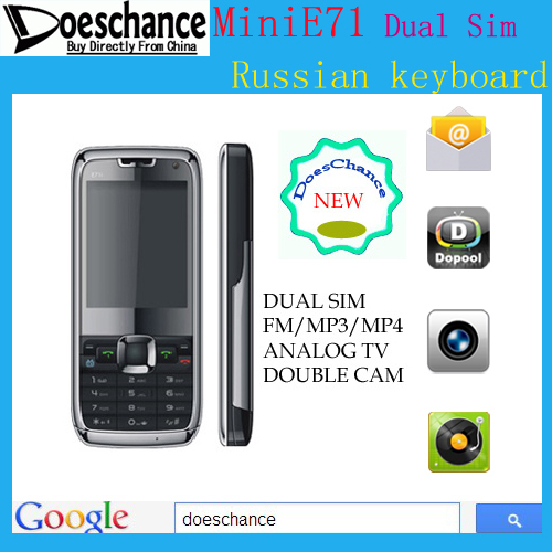 E71 mini Polish Language Free Shipping