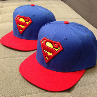 New Unisex Boys Cap For Children Hat Baby Snapback Hat Kid Hat Snapback Cap Kid Super Man Hip Hop Cap(China (Mainland))
