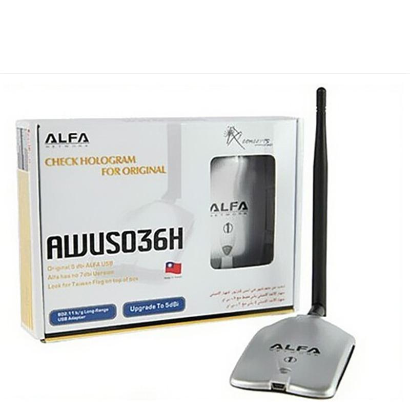 NEW ALFA AWUS036H 150Mbps High Power 1000MW WIFI USB Adapter 5DB Antenna Ralink(China (Mainland))