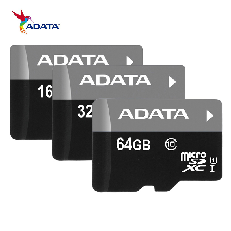16GB 32GB 64GB Memory Card ADATA C10 Micro SD Card SDHC SDXC UHS I Class 10