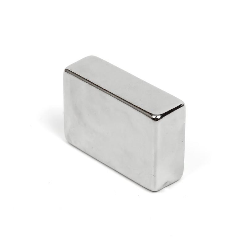 1pc 30 x 20 x 10 mm N50 Super Strong Rare Earth Magnet Block Powerful Neodymium Magnet Fridge Free Shipping(China (Mainland))