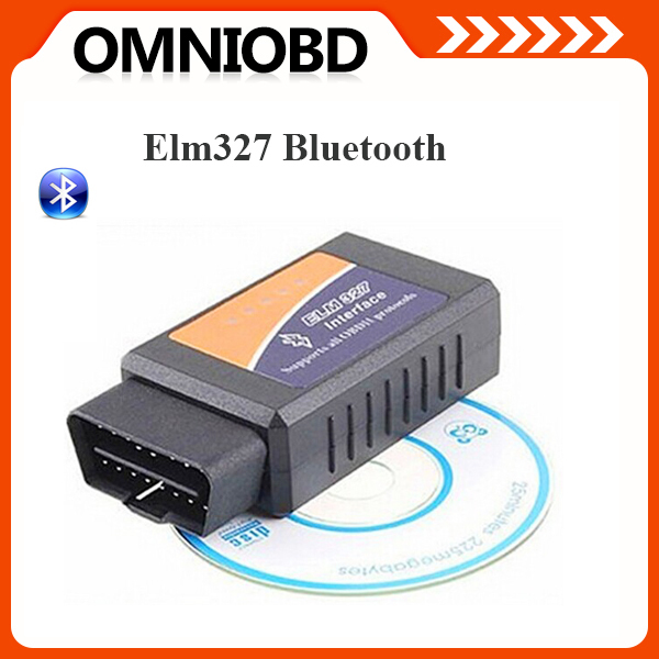 Hottest ELM327 Bluetooth OBDII ODB2 Diagnostic Interface Scanner , Elm 327 Bluetooth Car Scan Tool For Multi-Brands(China (Mainland))