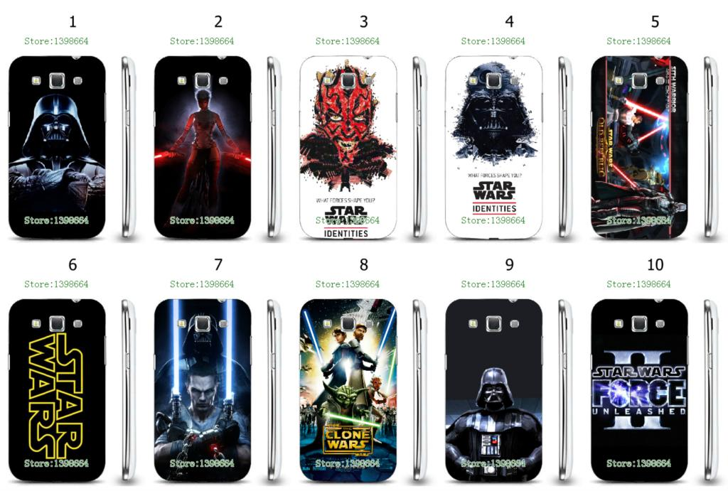 star wars hot white hard cases for Samsung Galaxy Win i8552 i8552 free shipping