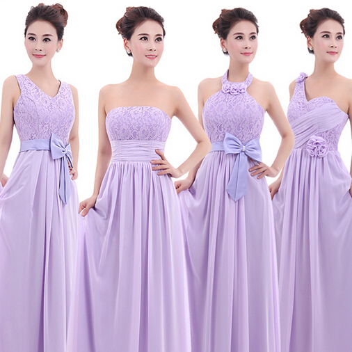 Design Bridesmaids Dresses Online Free new fashion long design