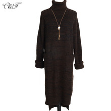 2015 New fashion woolen sweater turleneck long autumn winter women sweaters and pullovers top quality wool women winter clothing(China (Mainland))