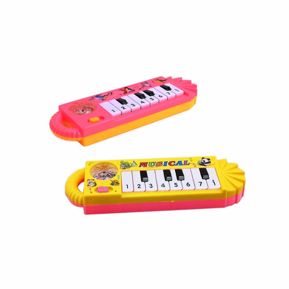 1Pc Popular Mini Plastic Electronic Keyboard Piano Kid Toy Musical Instrument(China (Mainland))