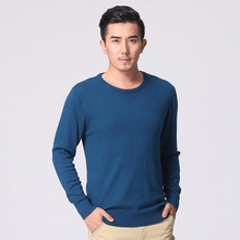 2016 men o-neck cashmere wool sweater blended pullover mens sweaters male roundneck knitted sweater pullovers wool jumper basic(China (Mainland))