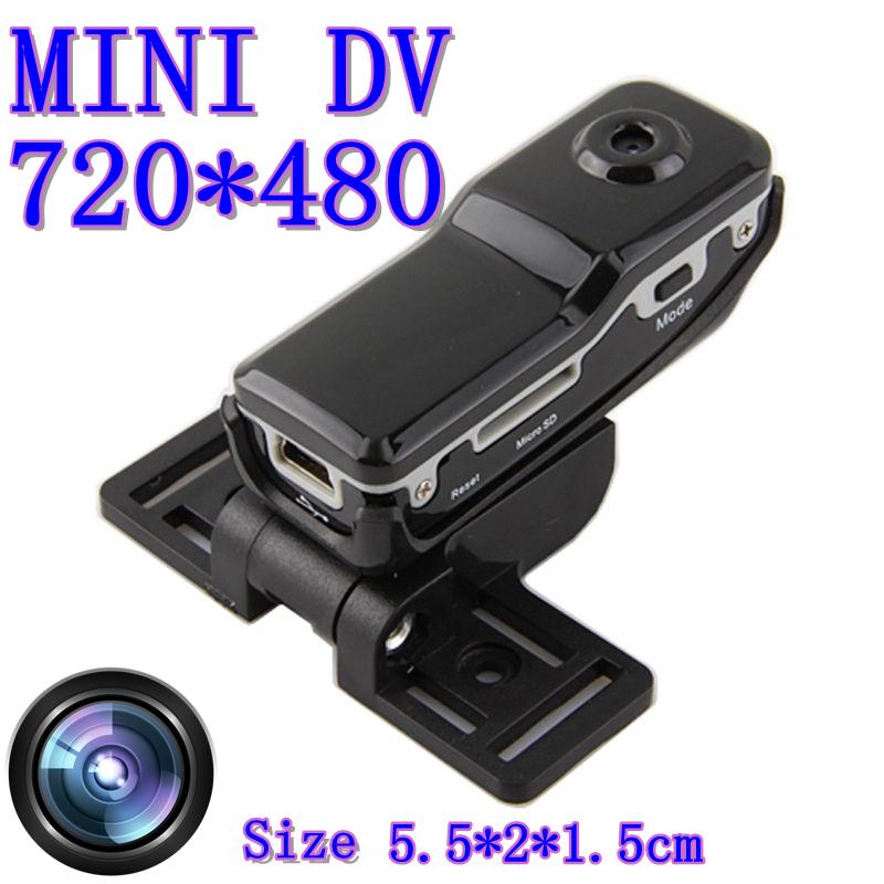 Ultra Popular Mini MD80 Sports Camera DV DVR 720P HD DVR + Holder + Clip for Outdoor Hiking Bike Video Audio Recorder Black MD80(China (Mainland))