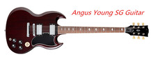 Wholesale and Retail Angus Young SG Guitar AC/DC Inlaids Rosewood Fretboard China Guitar & Music Instruments(China (Mainland))
