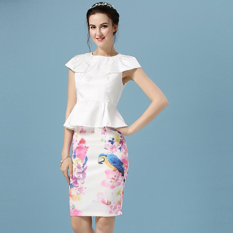 Женская юбка OL 2015 QCD556 женская юбка laisiyi ol sk1062