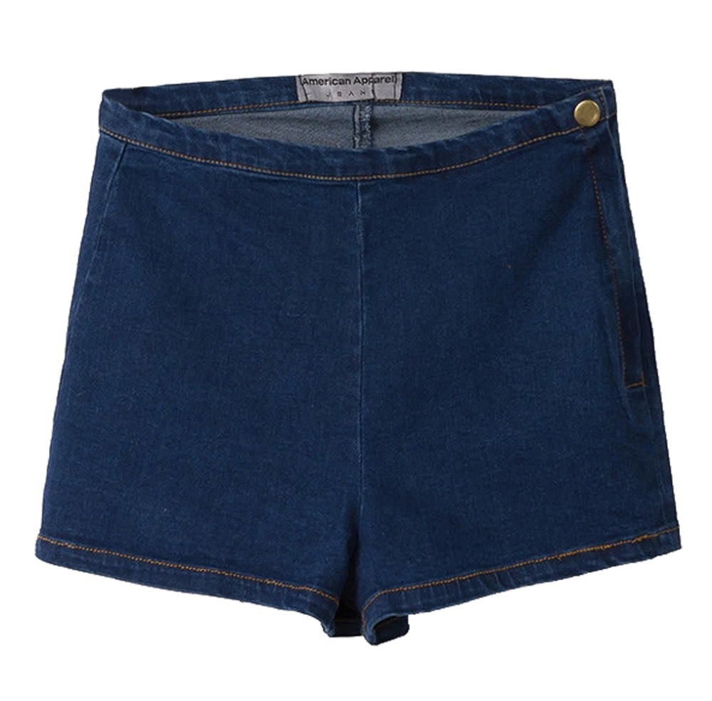 Tengo Women Casual Sexy Soft Fabric Elastic Waist Stretch Denim Shorts Short Jeans Pants. by Tengo. $ $ 17 88 Prime. FREE Shipping on eligible orders. Some sizes/colors are Prime eligible. out of 5 stars 5. Product Features No-Pocket Styling,Soft denim fabric, elastic waistband.
