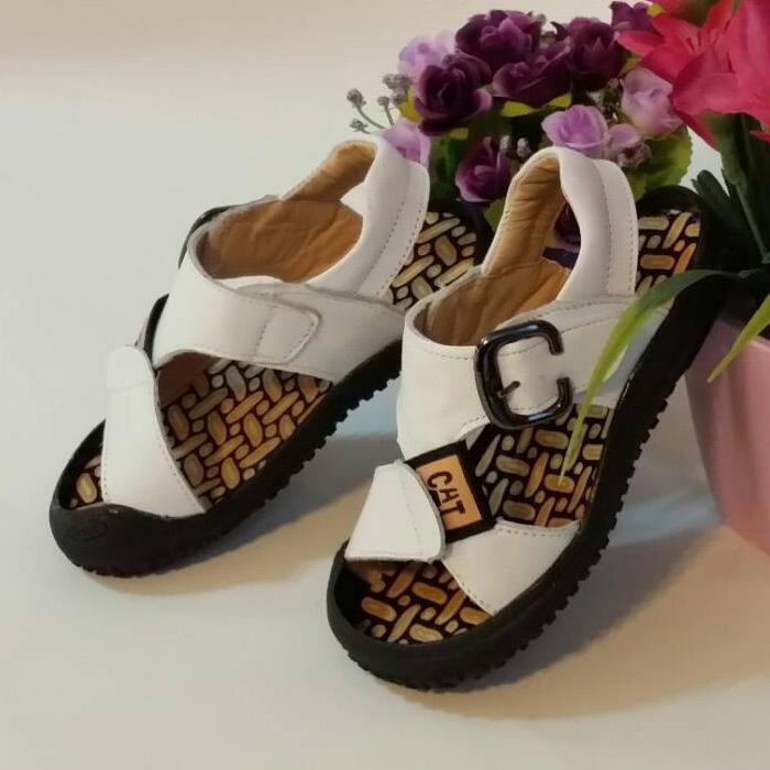 Vera pelle!!! estate sandali bambini del cuoio genuino tessuto del progettista neutro bambino sandali decorazione fibbia tendenza casuale HS-4-30(China (Mainland))