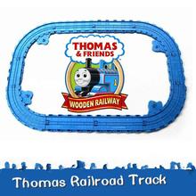 New160CM Thomas and Friends Railway Track Set For Take-n-Play metal diecast trains classic toys Railroad Plastic Slot  12PCS(China (Mainland))
