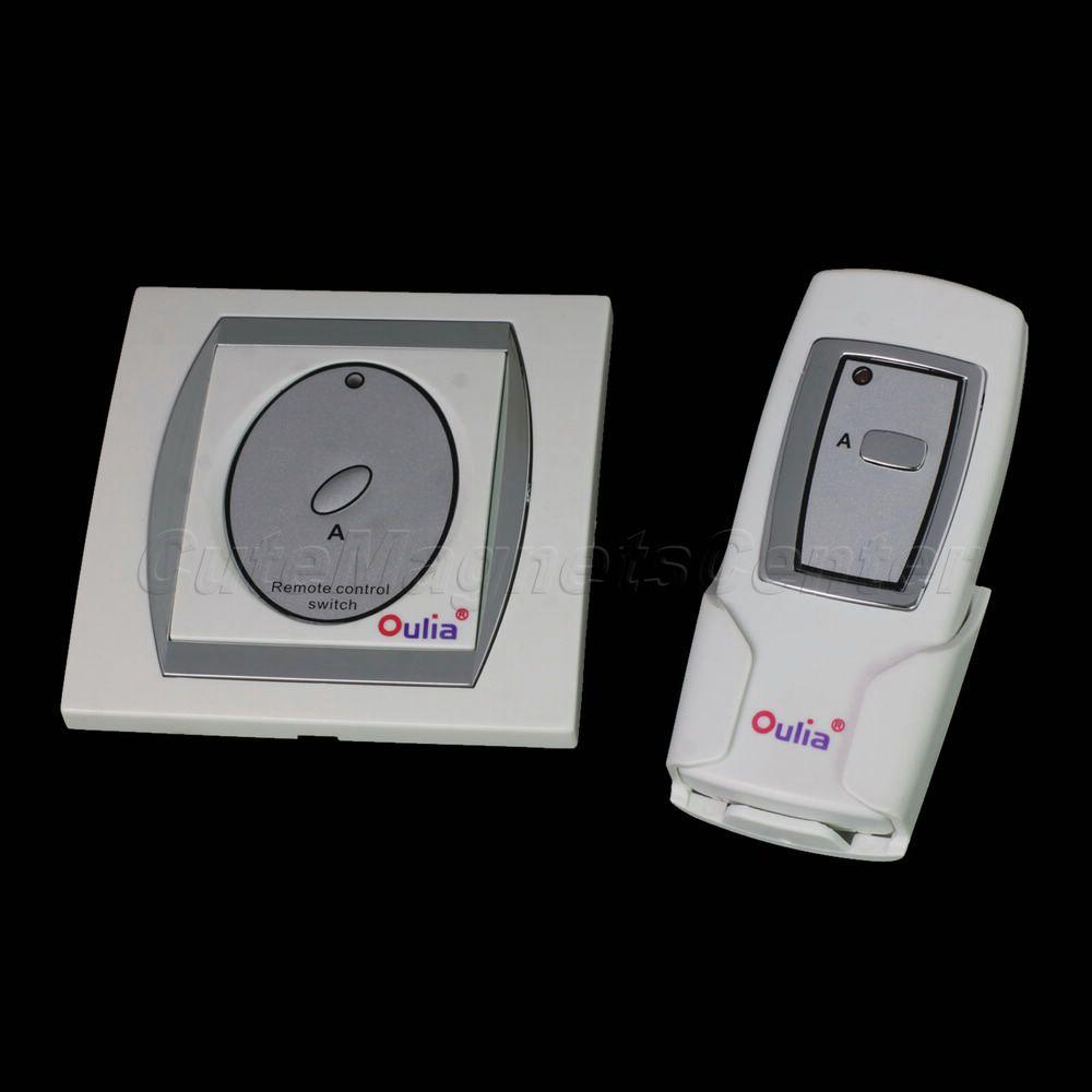 Good Quality New Digital Gadget Intelligent Light Remote Controller Wireless One Way Lamp Switch(China (Mainland))