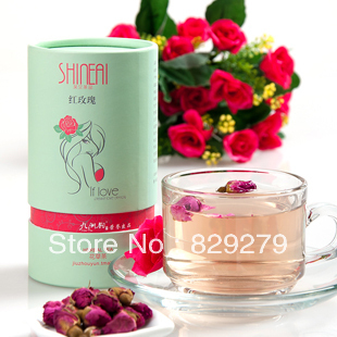 Green organic herbal tea tea natural plant moisturizing beauty adjust dried roses beauty products flower tea